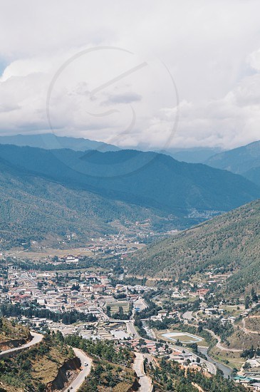 Bhutan : landscape photo