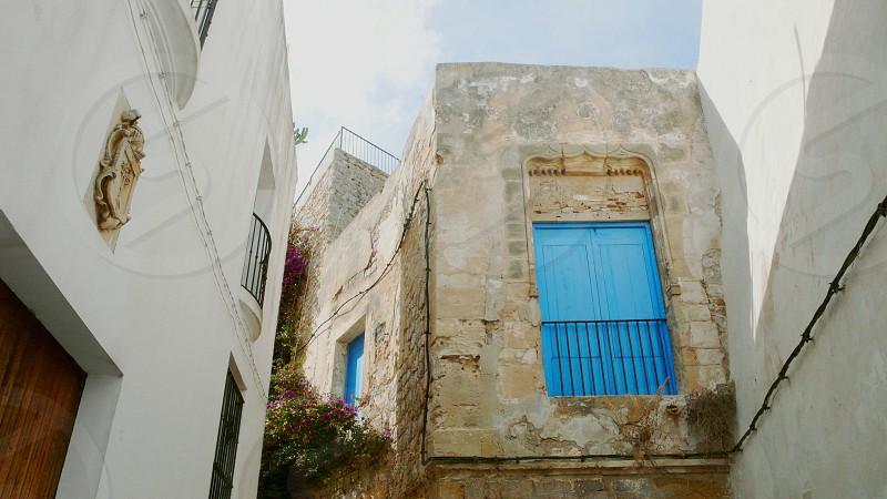 Old Balcony in Ibiza Town (Eivissa) photo