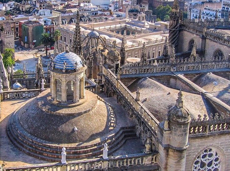 From the Giralda tower Seville Spain photo