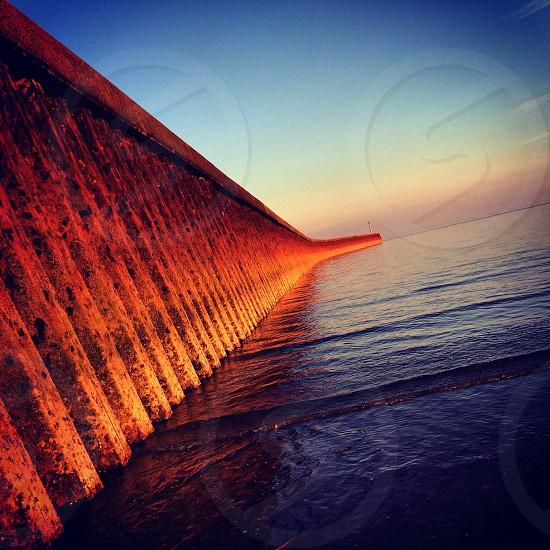 Beach wall photo