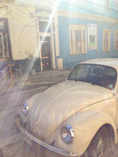 VW Beetle - Valparaiso Chile photo