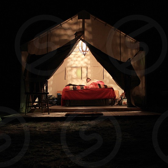 Safari tent  photo