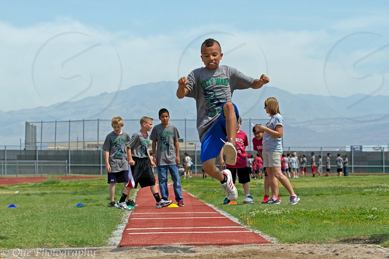 Track competition in Las Vegas NV photo