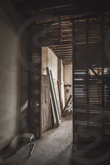 Abandoned building in Denton TX. photo