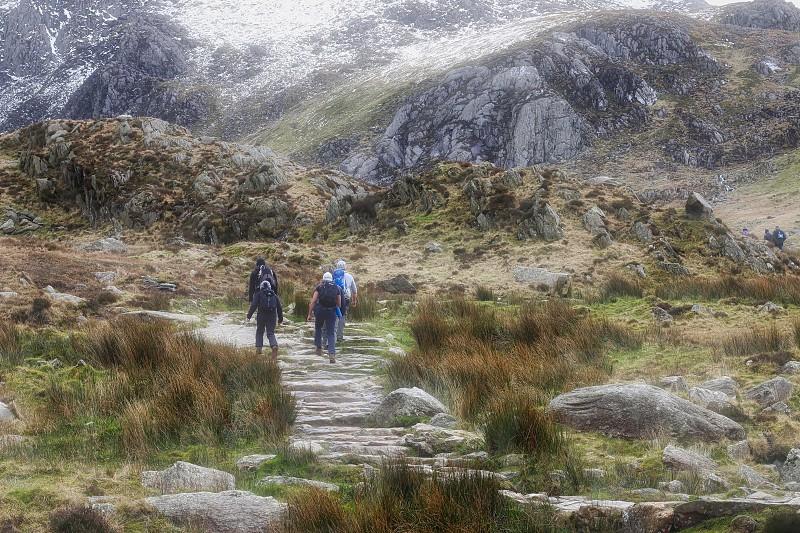Mountain landscapehiking photo