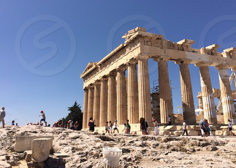 Acropolis Athens Greece photo
