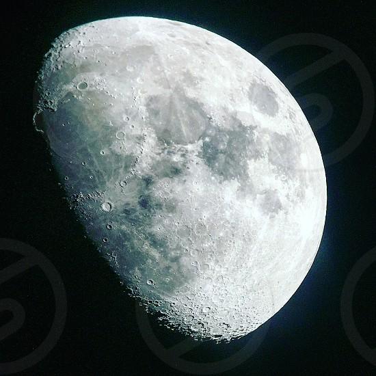 Moon space astronomy telescope iPhone lunar Luna stargazing photo