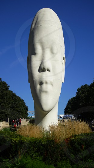 """Looking into my dreams Awilda"" Chicago Public Art Statues photo"