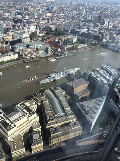 Hms Belfast and Tower Hamlet photo