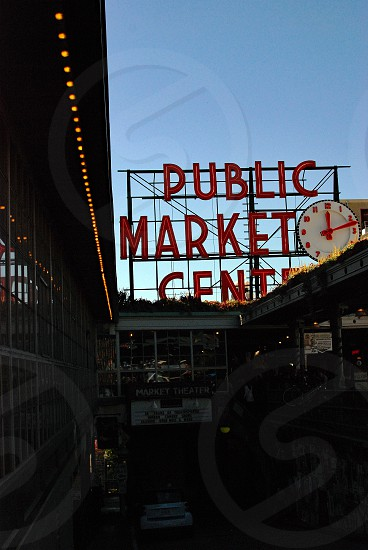 Pike Public Market Seattle photo