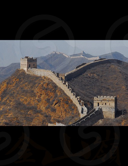 Jingshanlin Great Wall Beijing China photo