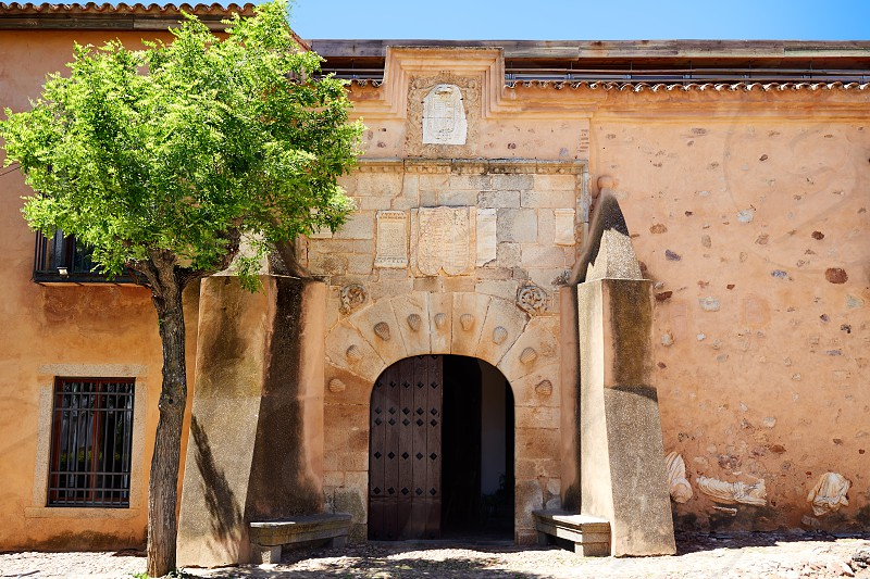 Torremejia near Merida in Extremadura Spain by via de la Plata way photo