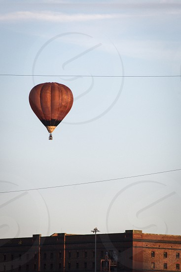 Hot air balloon at Bristol Balloon Festival UK. photo