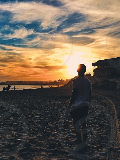 Sunset in Santa Cruz photo