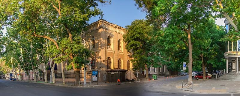 Odessa Ukraine - 06.19.2019. Synagogue and Jewish community of Tikva in Odessa Ukraine photo