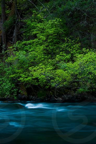 green blue water blur speed still photo