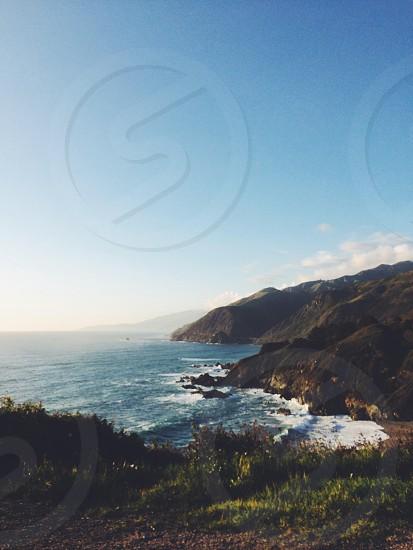 Pacific coast highway California photo