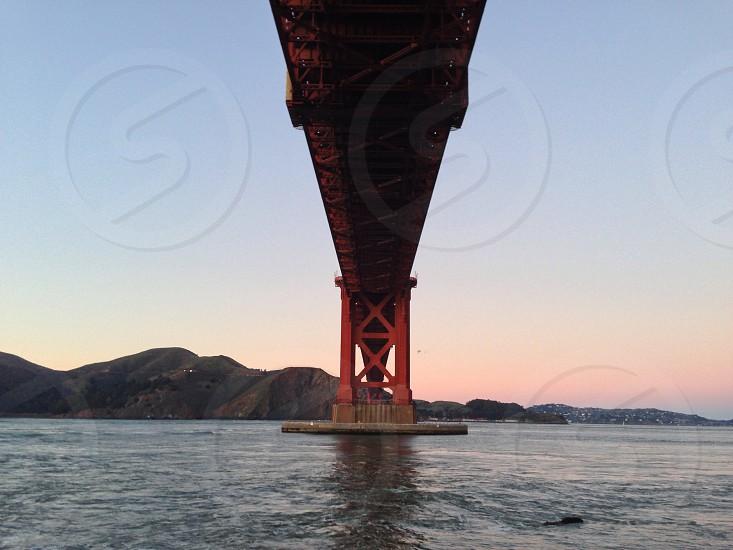 Under the Golden Gate Bridge - San Francisco CA photo
