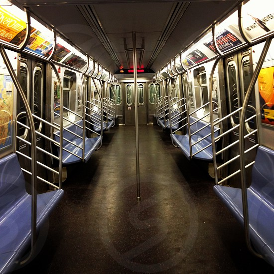 subway vehicle interior photo