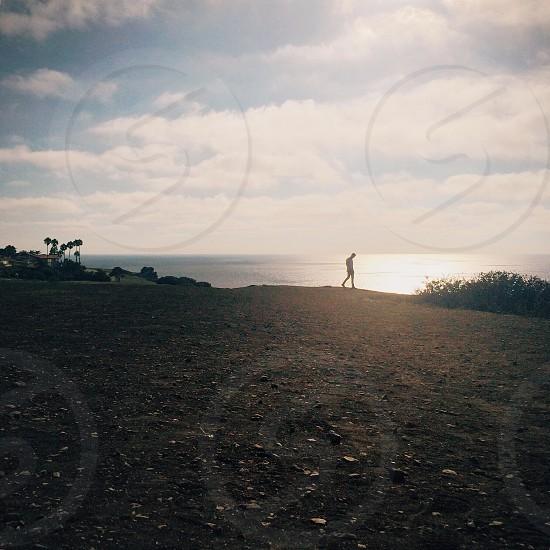 Exploring cliffs - west coast photo