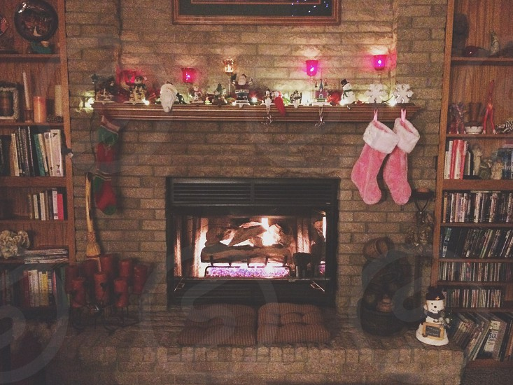 Stockings prepped and ready for Santa.  photo