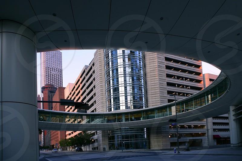 Houston downtown city urban buildings skyscraper Texas photo