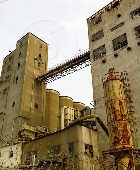 abandoned factory photo photo