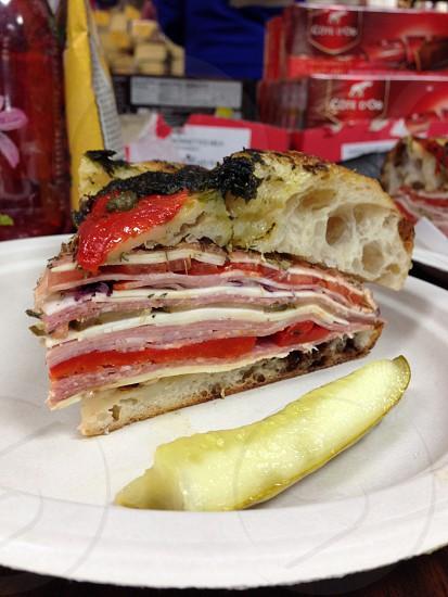 gourmet sandwich photo
