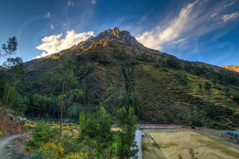 Mountain landscape scenery Peru photo