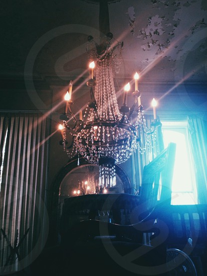 Swing from the chandelier!!  photo