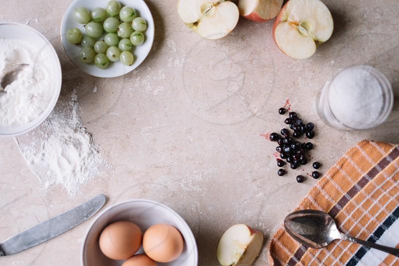 Breakfast ingredients  photo