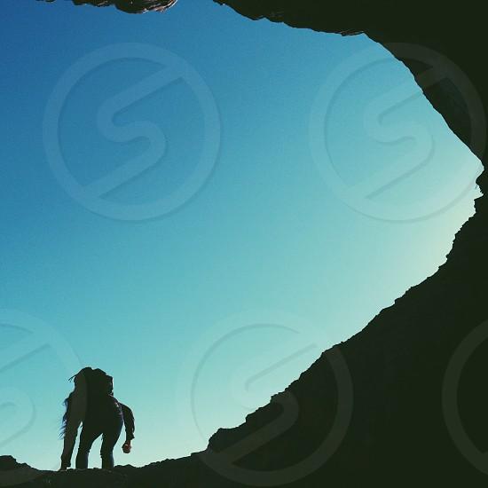 Ocean caves.  photo