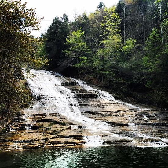 Buttermilk Falls -- Ithaca NY photo