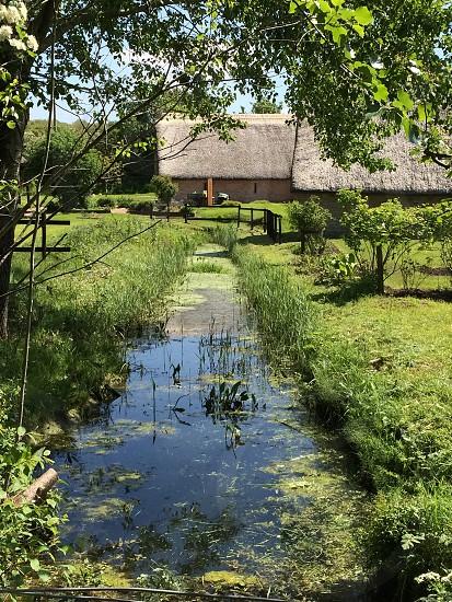 Stream cottage photo