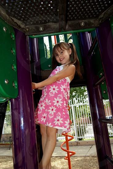 Playground fun photo
