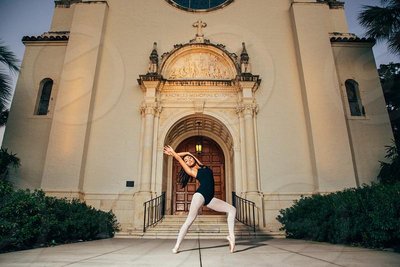 Young woman/ballet dancer. photo