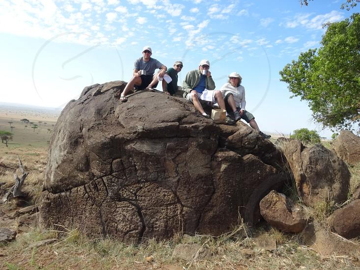 Kenyan safari photo