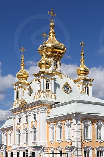 Peterhof Palace St. Petersburg Russia photo