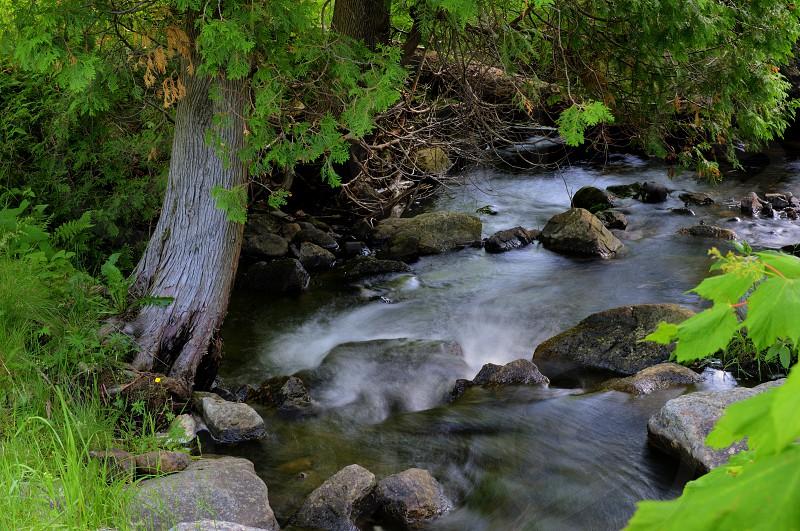 River in Upstate NY photo