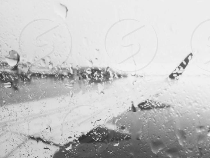 Rainy runway  photo