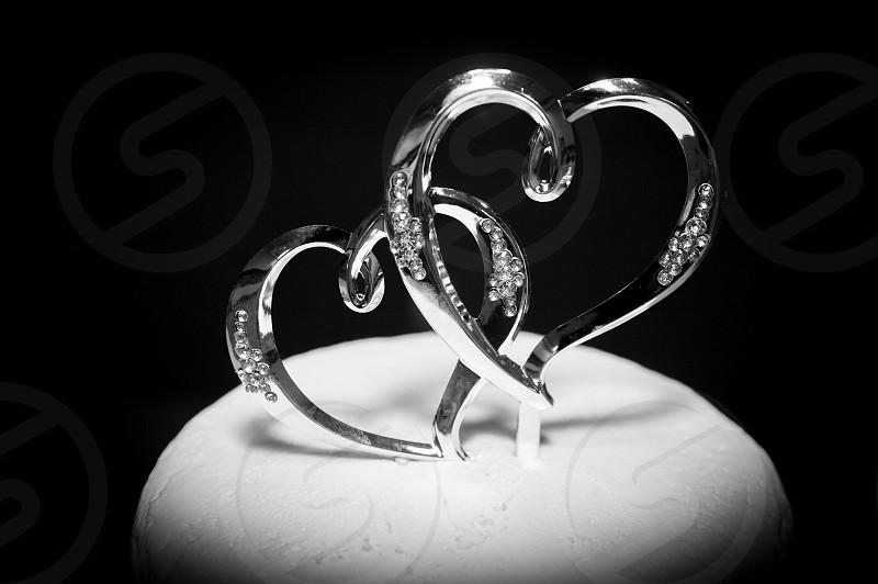 wedding Cakes Hearts photo