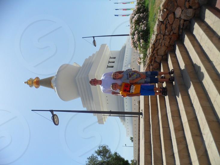 monk tempel Costa del Sol travel wacation summer photo