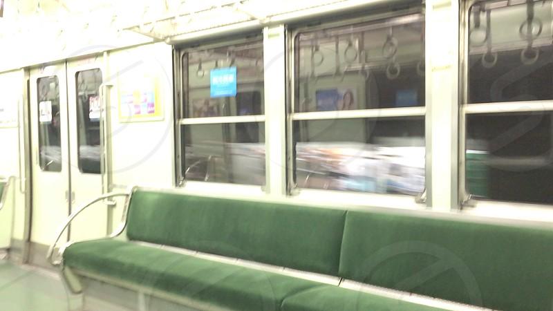 Japan train in Kyoto photo