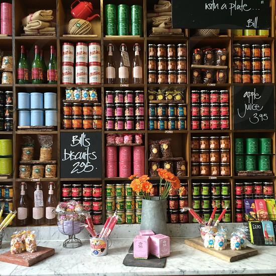 jars on shelf photo