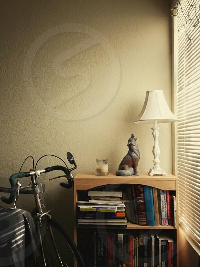 white buffet lamp photo