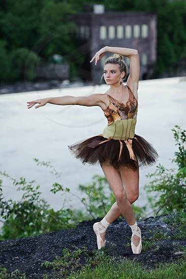 Even dancers love nature. photo