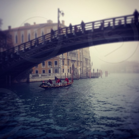 Bridge picture in venice - my journey gondola trip over italy photo