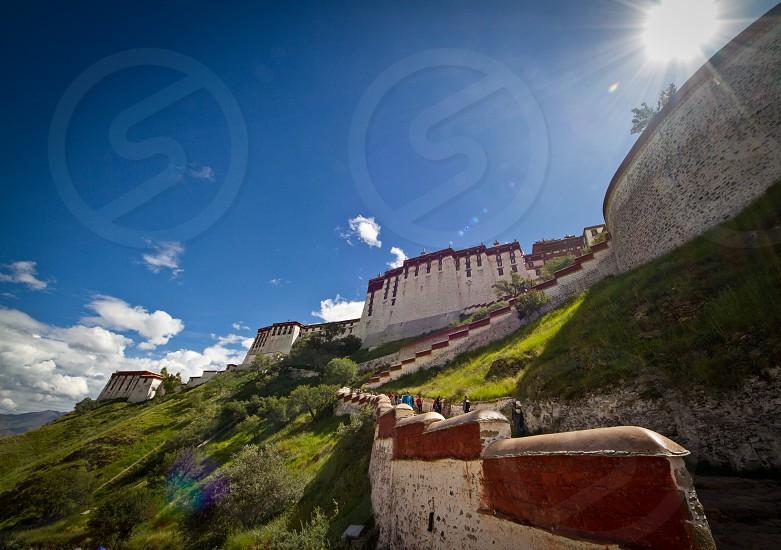 Potala Palace Tibet China photo