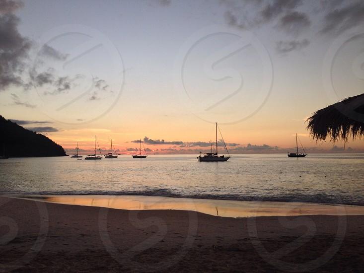 St Lucian sunset photo