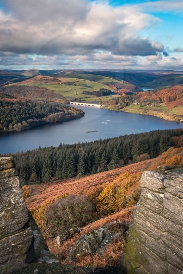Ladybower reservoir. photo